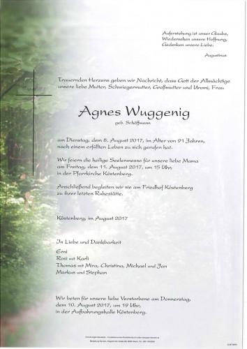 Agnes Wuggenig