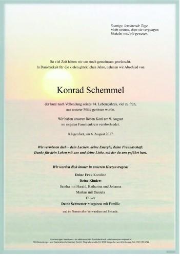 Konrad Schemmel