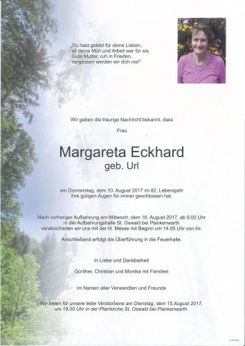 Margareta Eckhard
