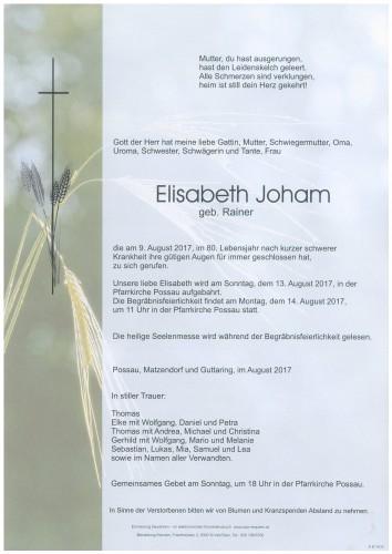 Elisabeth Joham