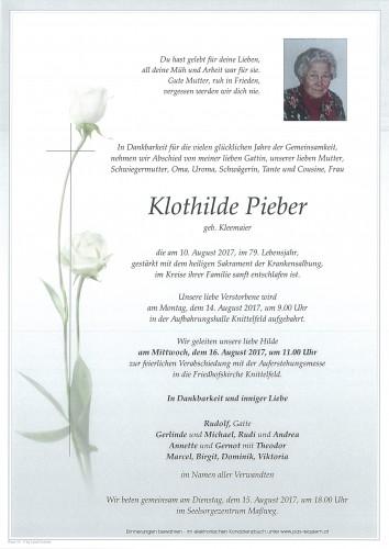 Klothilde Pieber