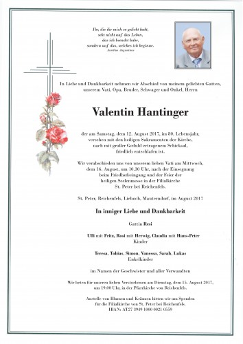 Valentin Hantinger