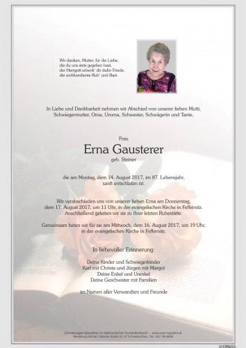 Erna Gausterer