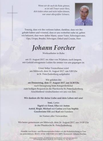 Johann Forcher