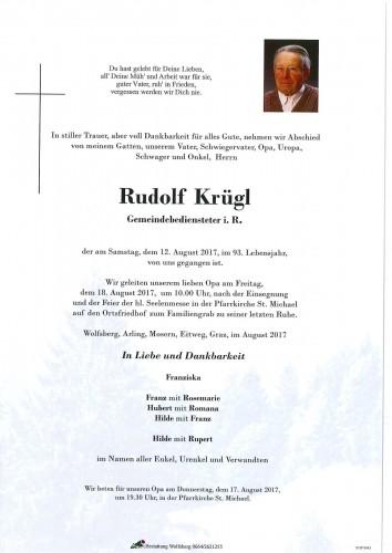 Rudolf Krügl