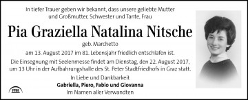 Pia Graziella Natalina Nitsche