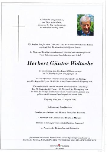 Herbert Günter Woltsche