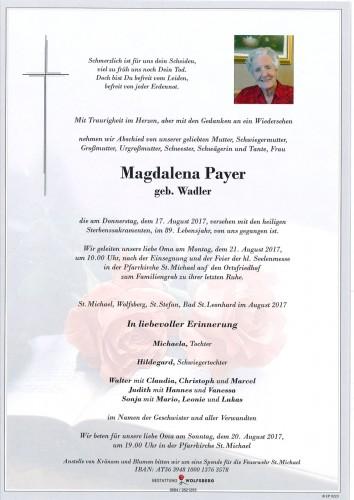Magdalena Payer
