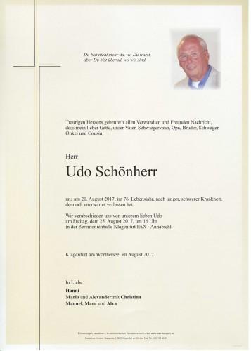 Udo Schönherr