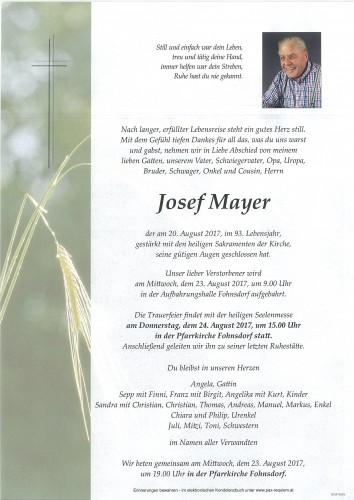 Josef Mayer