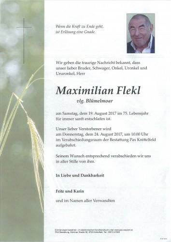 Maximilian Flekl