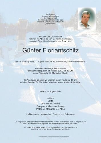 Günter Floriantschitz