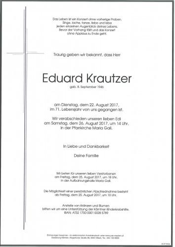 Eduard Krautzer