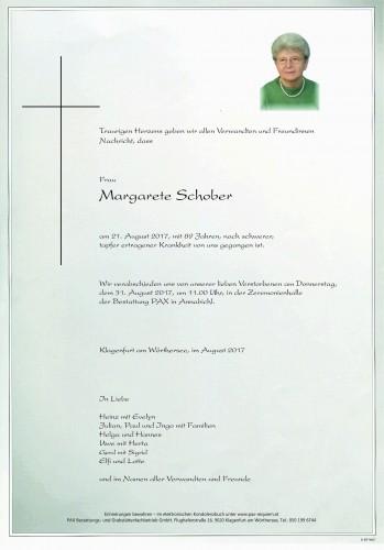 Margarete Schober