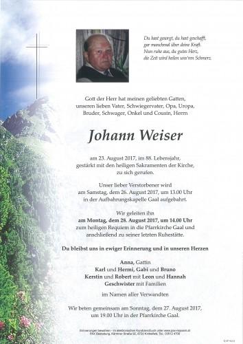 Johann Weiser