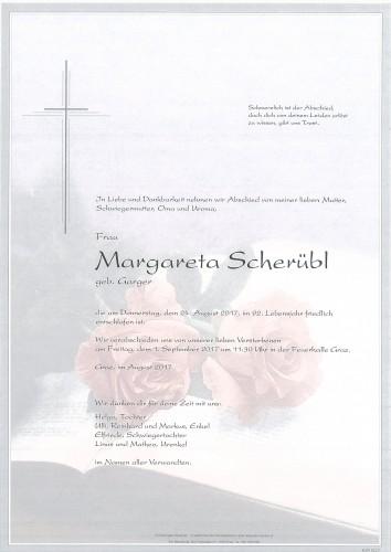 Margareta Scherübl