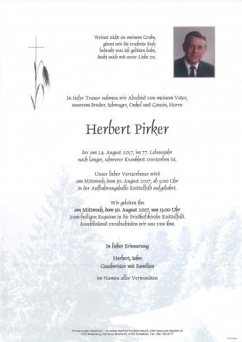 Herbert Pirker