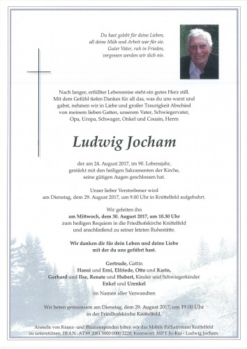 Ludwig Jocham