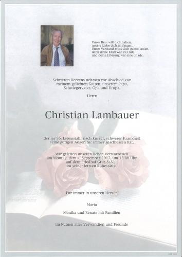 Christian Lambauer