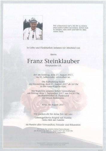 Franz Steinklauber