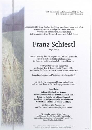 Franz Schiestl