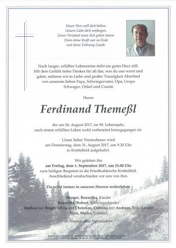 Ferdinand Themeßl