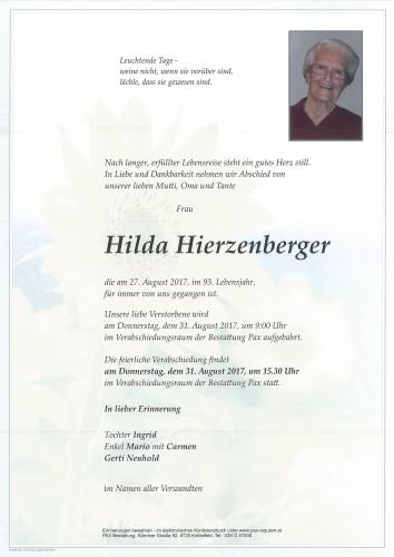 Hilda Hierzenberger