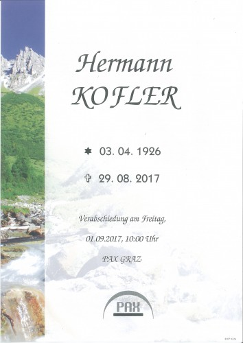 Hermann Kofler