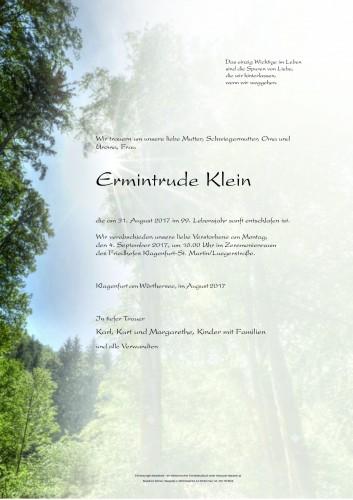 Ermintrude Klein