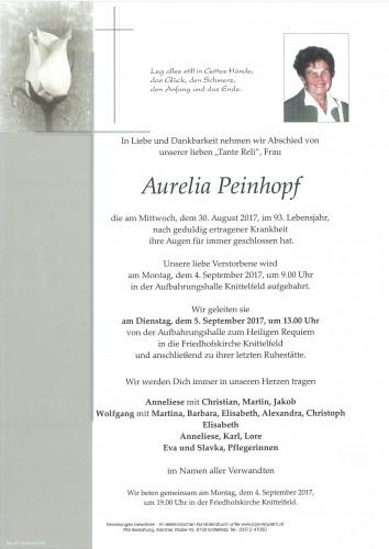 Aurelia Peinhopf