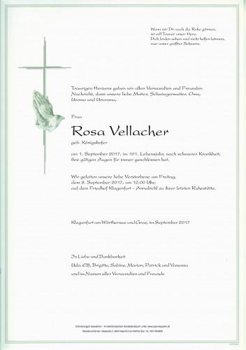 Rosa Vellacher