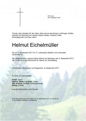 Helmut Eichelmüller