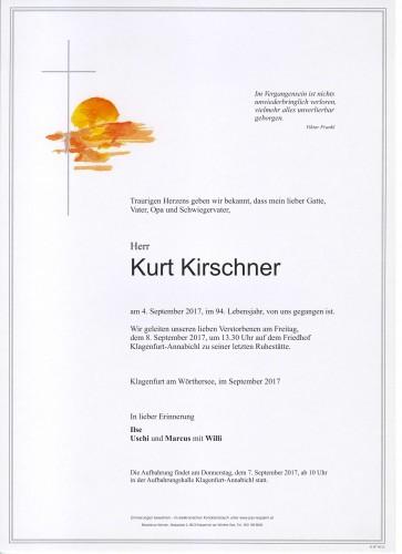 Kurt Kirschner
