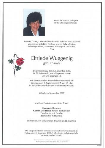 Elfriede Wuggenig