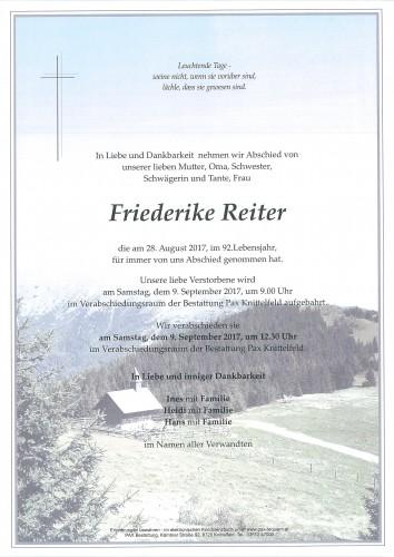 Friederike Reiter
