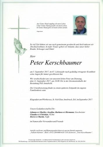 Peter Kerschbaumer