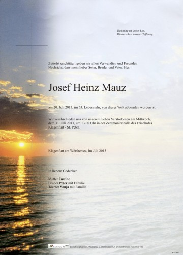 Josef Mauz