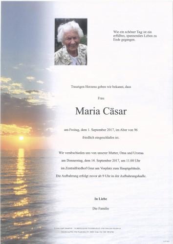 Maria Cäsar