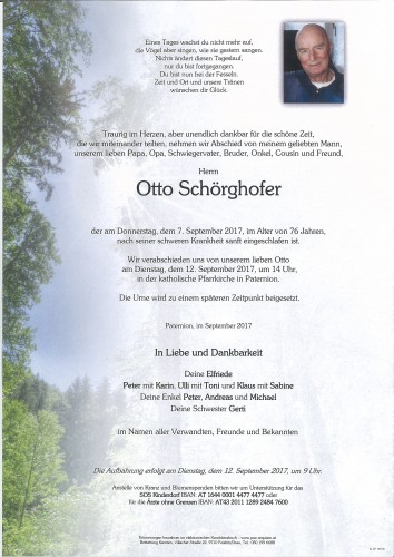 Otto Schörghofer
