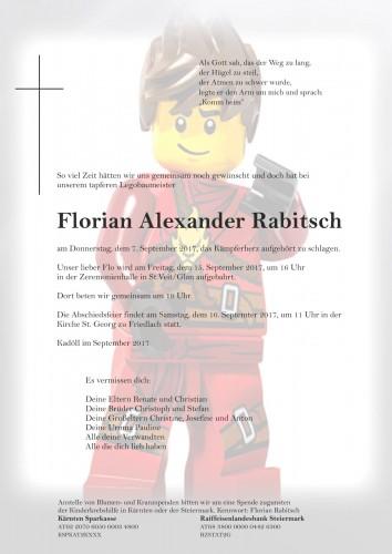 Florian Alexander Rabitsch