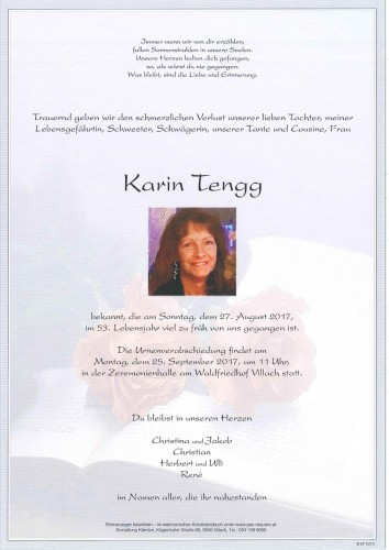 Karin Tengg