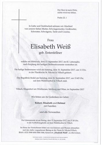 Elisabeth Weiß