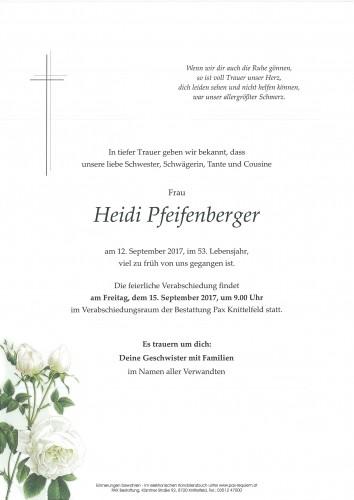 Heidi Pfeifenberger