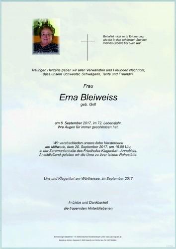 Erna Bleiweiss