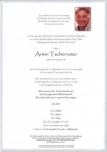 Armin Tschernuter