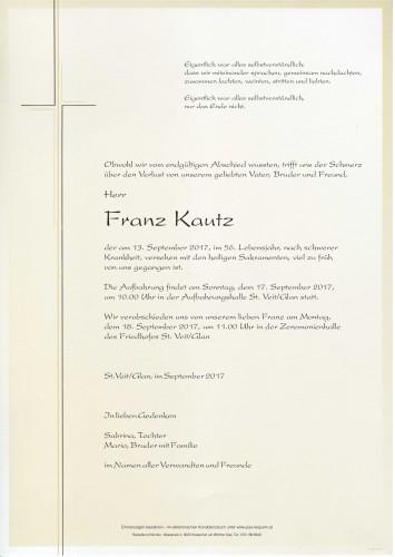 Franz Kautz
