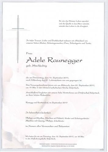 Adele Raunegger