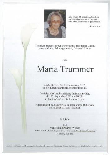 Trummer Maria