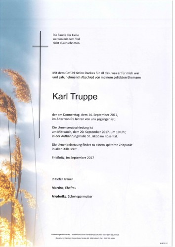 Karl Truppe