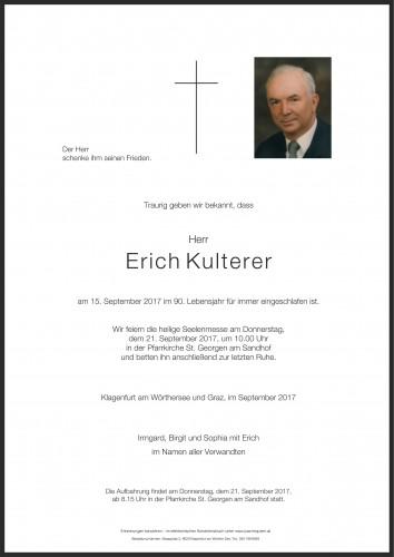 Erich Kulterer